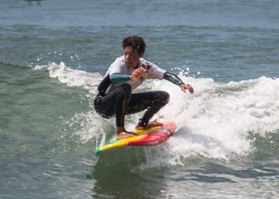 Malachi Williams Surfing