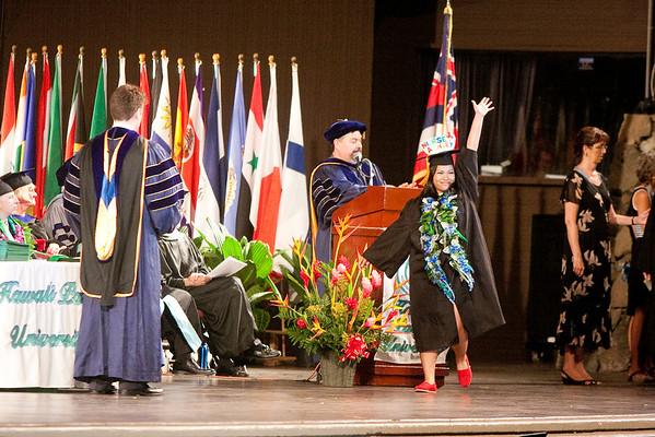 Ashley's Graduation Ceremony (HPU)
