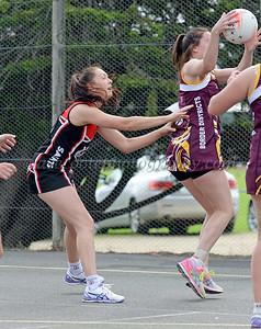 A Grade Netball - Round 3 v Border Districts