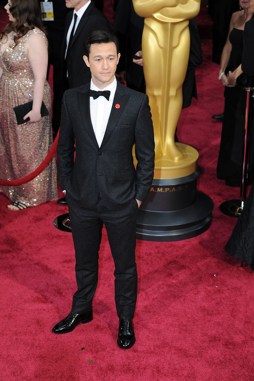 . Joseph Gordon-Levitt attends the 86th Academy Awards at the Dolby Theatre in Hollywood, California on Sunday March 2, 2014 (Photo by John McCoy / Los Angeles Daily News)