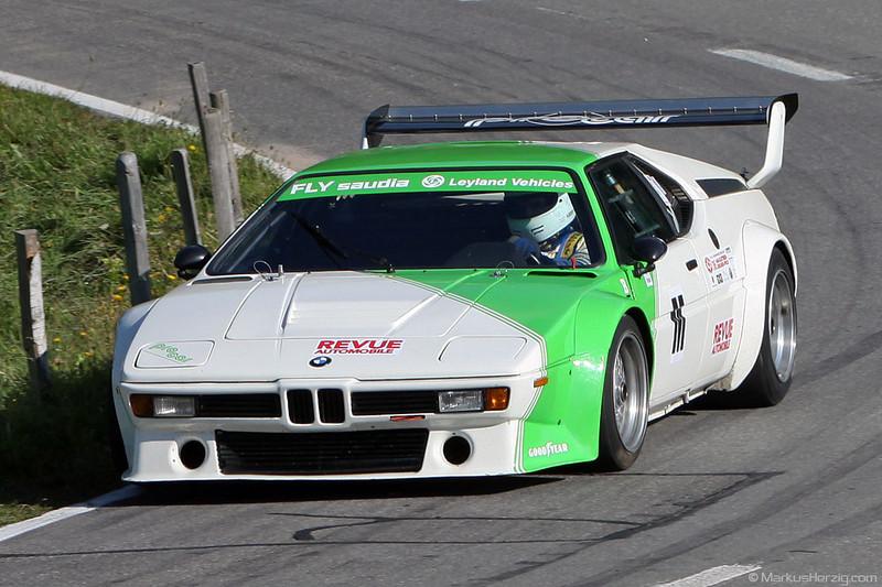 BMW M1 Procar - Maurice Girard SUI @ Bergrennen Gurnigel Switzerland 5Sep10