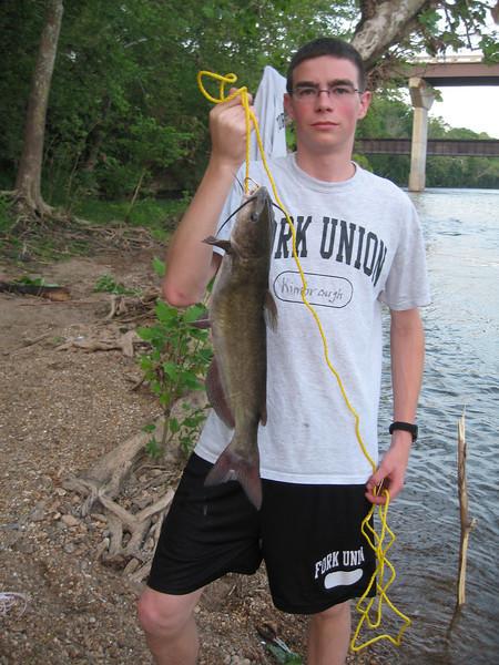 Big Catch at Bremo Bluff