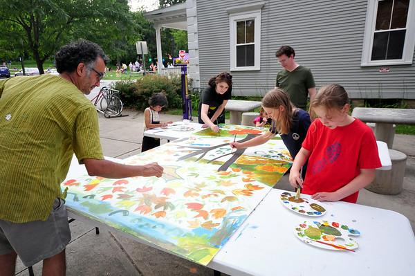 Community Mural at Summer Sundays-072014