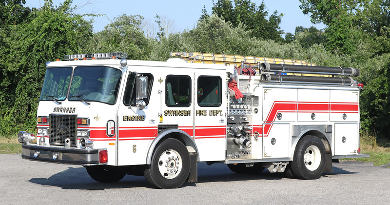 Engine 6 (Spare).  1992 E-one Protector.  1250 / 500