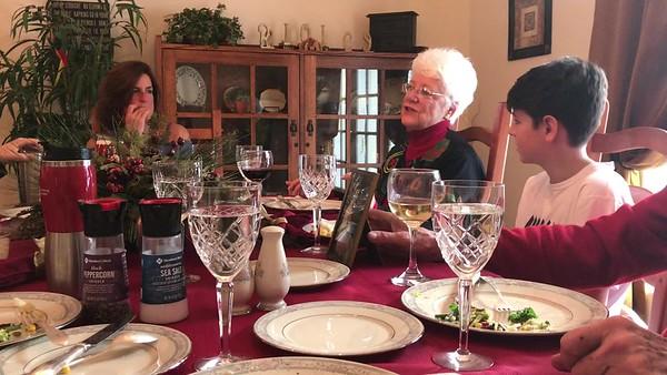 Bobbi Lampman Christmas Dinner 2017