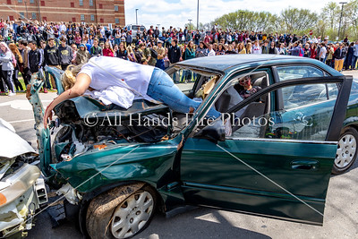 20180419 - Mount Juliet High School - Mock Vehicle Accident