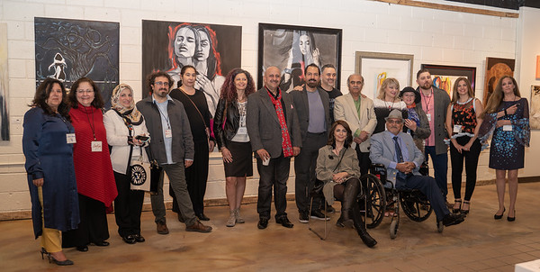 May 3, 2019 - Black Box Gallery, Artists of The Arab Migration