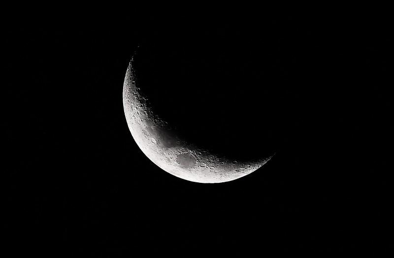 Slight moon