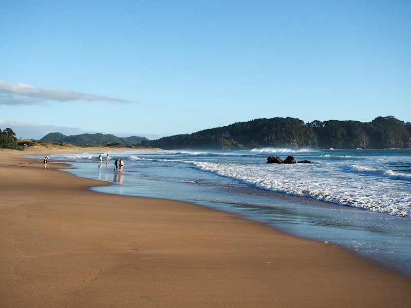 Hot Water Beach on the Coromandel Peninsula