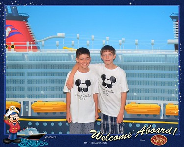 Disney cruise March 2017