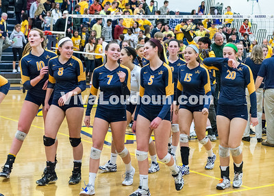Volleyball: Jamestown vs. Loudoun County 11.18.14 (by Chas Sumser)