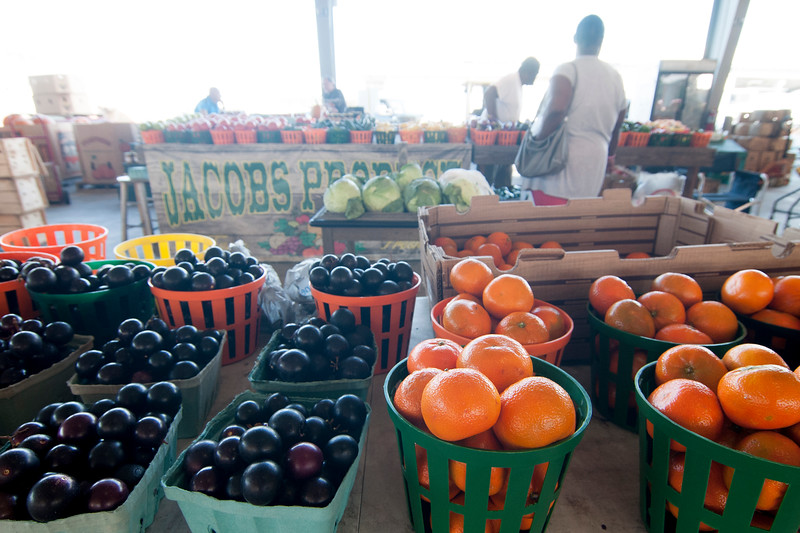 South Carolina State Farmers' Market in West Columbia, South Car