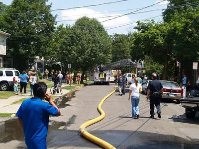 07-13-08 Suffern, NY - Basement Fire