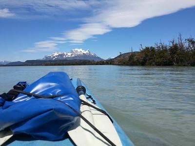 Kayaking Torres del Paine