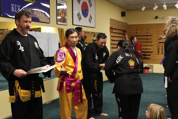Kuk Sool Master Seminar Feb 1 2010