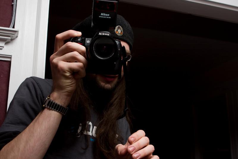 Steve and his Nikon
