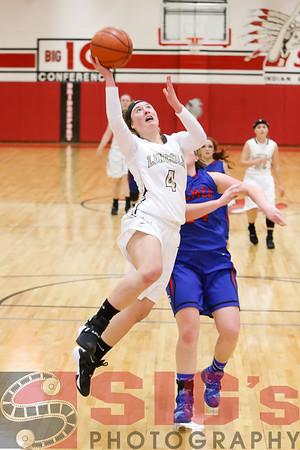 12-11-15 Lincoln HS Girls Basketball vs Gilmer County
