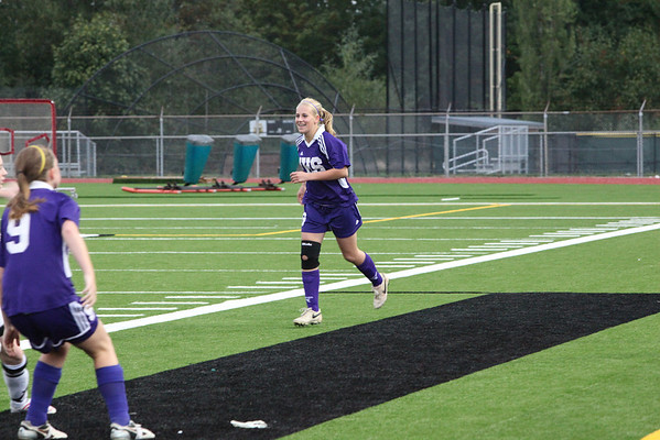 2009-09-16 IHS Girls JV Soccer vs Redmond