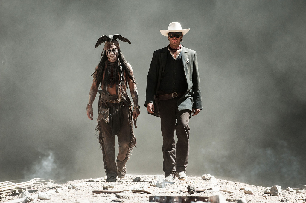 ". 2014 Academy Award Nominee for Best Visual Effects: ""The Lone Ranger.\""  (AP Photo/Disney/Jerry Bruckheimer, Inc., Peter Mountain, File)"