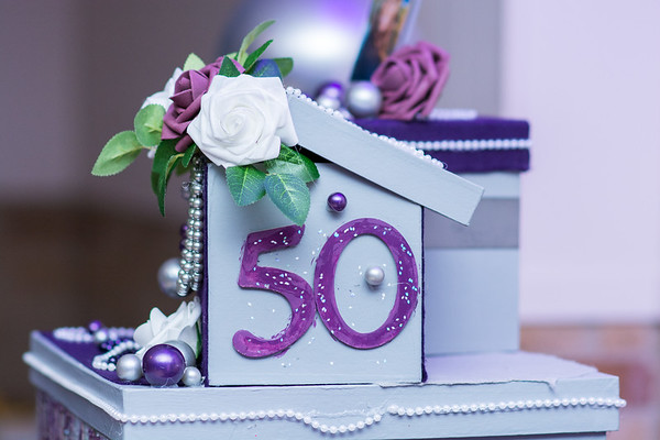 Pearls & Petals 50th Birthday Celebration for Moonie