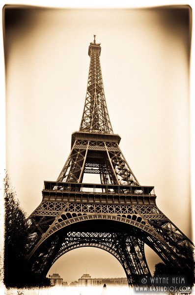 Eiffel Tower    Photography by Wayne Heim