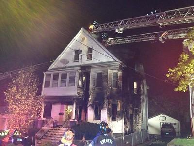 Structure Fire - Unknown Address, Everett, MA - 5/2/14
