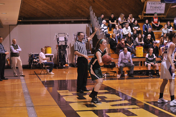BABSON  WOMEN'S BASKETBALL AT AMHERST 3.3.2012