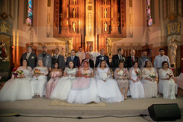 Bodas Comunitarias Iglesia Sta Genoveva