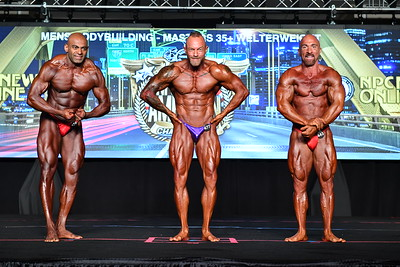 Men's Bodybuilding Masters 35+ WW