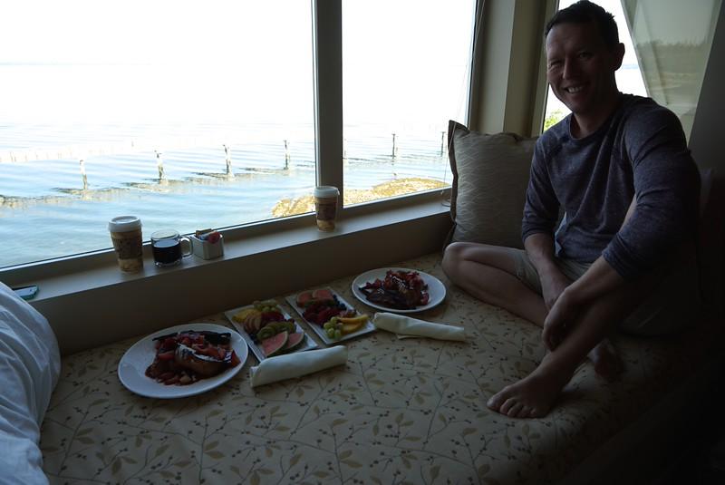 Anniversary breakfast at the Chrysalis in Bham