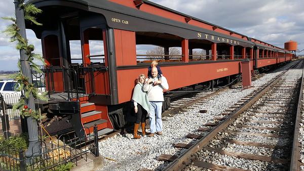 2016 Strasburg Railroad ride
