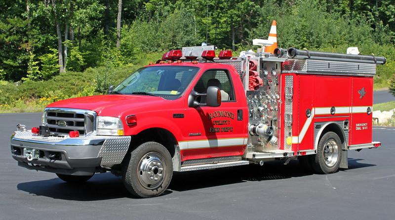 Utility 7  2003 Ford/E-One  1000/250
