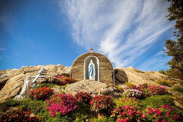 Our Lady of Lourdes Grotto — Port au Port Peninsula