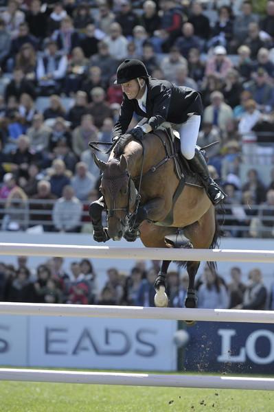 JUMPING : Leon THIJSSEN sur Tyson GRAND PRIX DE LA VILLE DE LA BAULE -  CSIO DE LA BAULE 2012 - PHOTO : © CHRISTOPHE BRICOT