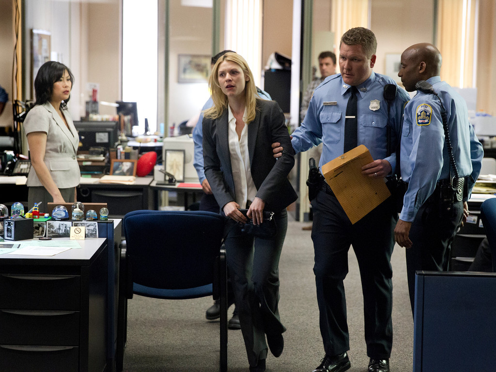 . Claire Danes as Carrie Mathison in Homeland (Season 3, Episode 2). - Photo:  Kent Smith/SHOWTIME