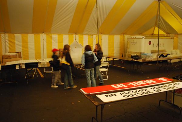 2008 Turkey trot set up