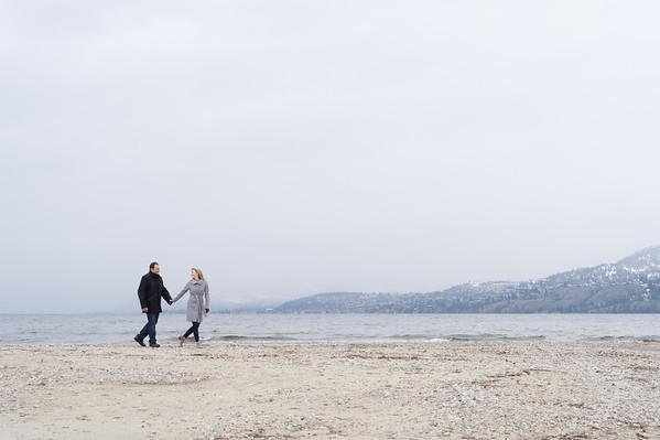 Trish + Chad - Kelowna Okanagan Engagement Photography