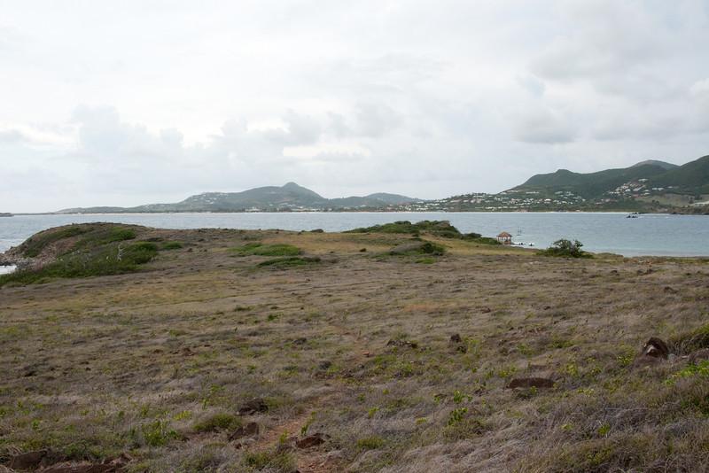 Pinel Island looking towards Orient Beach