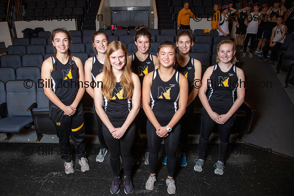 Nauset Girls Indoor Track Team and Roster 2019_2020