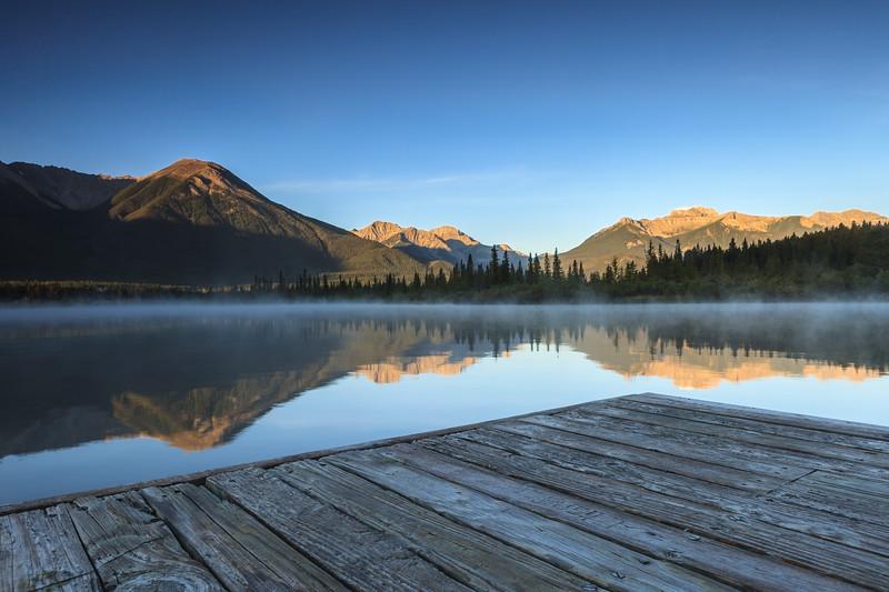 Vermilion Lakes, Banff National Park. Alberta, Canada.