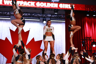 CheerForce WolfPack  Golden Girls - Worlds Face-Off Level 5
