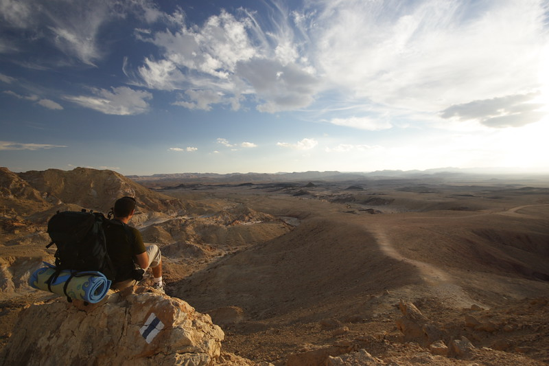 Ramon Crater overlook from Mt Ardon  תצפית על מכתש רמון מהר ארדון