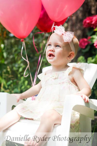 Scarlett's First Birthday Portraits