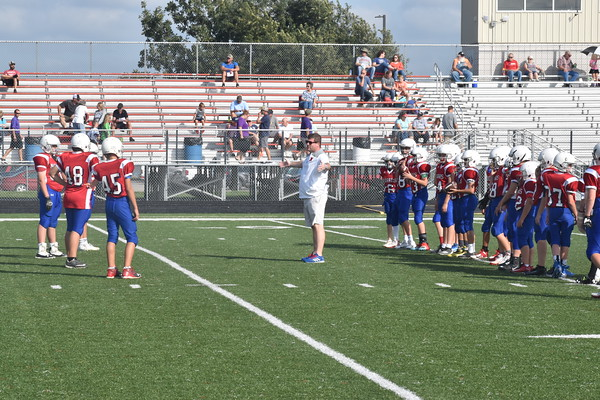 7th Grade Football vs Blair