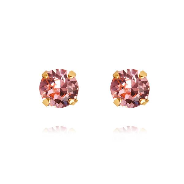 Classic Stud Earrings / Light Rose