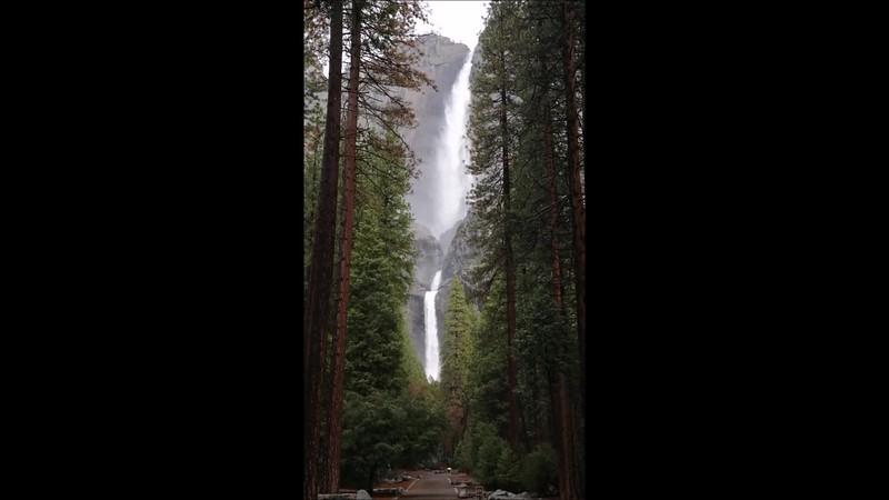 Yosemite Falls - Yosemite National Park - Feb 2017