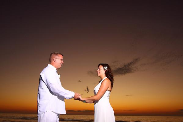 Pat and Rebecca Wedding Florida!