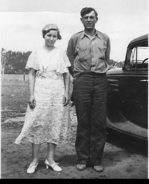 Ada and Tom Durham - undated photo