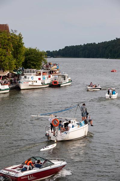 Mikolajki, Lake Sniardwy, Poland
