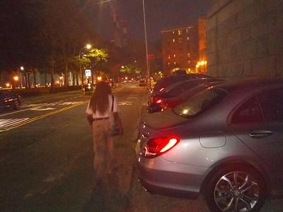 sidewalk car